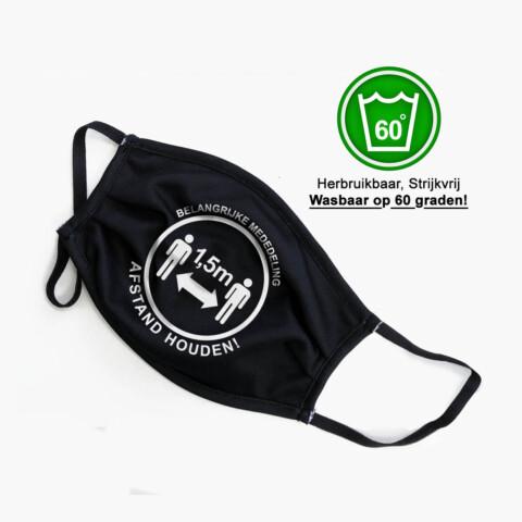 Herbruikbare mondkapjes met eigen logo