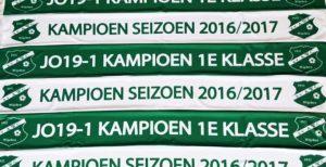 SV AWC Wijchen - Kampioenssjaals